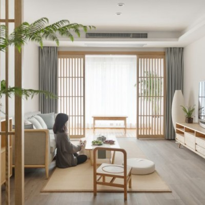 原木+白墙总有看腻的一天,但他95㎡的家,因为放了这个,就完全不同了...