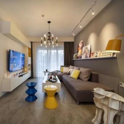 设计师为自己设计的89㎡小家,简约实用、温馨惬意!